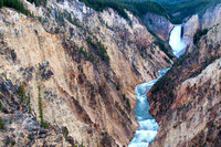Upper Falls, Yellowstone River, WY